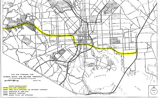 Baltimore Early Expressway Planning