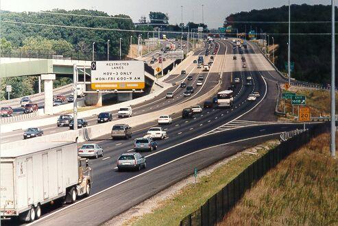 virginia freeway hov lanes