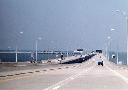 Bridge Between Long Island And Connecticut
