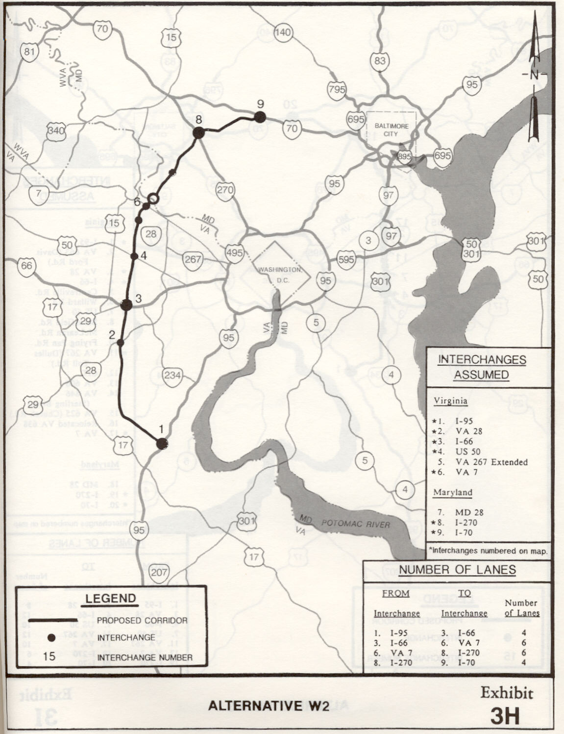 Washington Byp Studies on us route 95 map, route 301 florida map, route 301 maryland map, interstate 301 map, highway 301 florida map, delaware 301 bypass map,